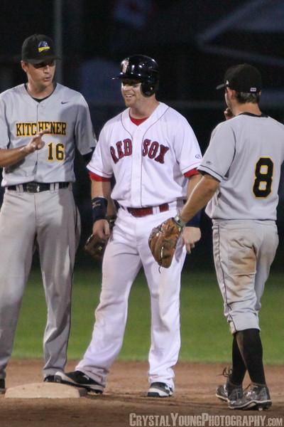 Kitchener Panthers at Brantford Red Sox June 27, 2014