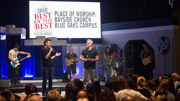 Blue Oaks Sunday Service - July 26, 2015