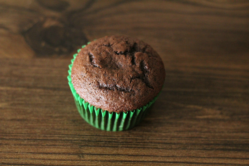 fully baked chocolate cupcakes