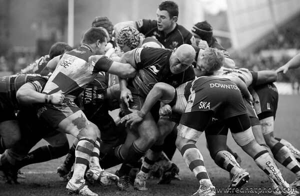 Northampton Saints 2013 so far in black and white
