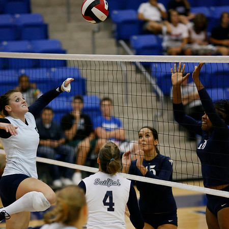 Palm Beach Atlantic University Volleyball vs Nova Southeastern University, At NOVA, October 9th, 2007, 7pm