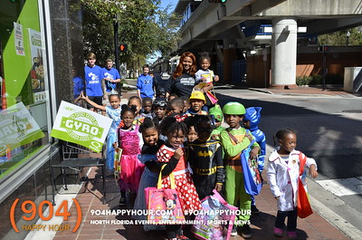 Trick or Treat on the Street - 10.31.17