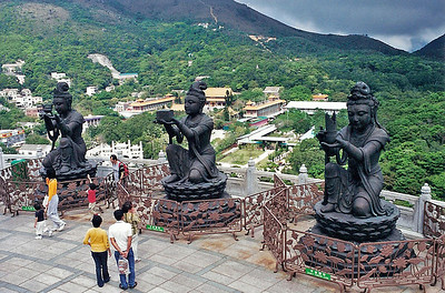 Hong Kong - day trip to Lantau Island - film scans