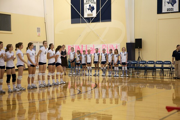 Regents Volleyball Varsity 2011