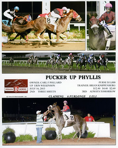 PUCKER UP PHYLLIS - 7/16/2013