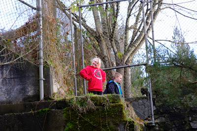 Tumwater Falls with Family December 2016