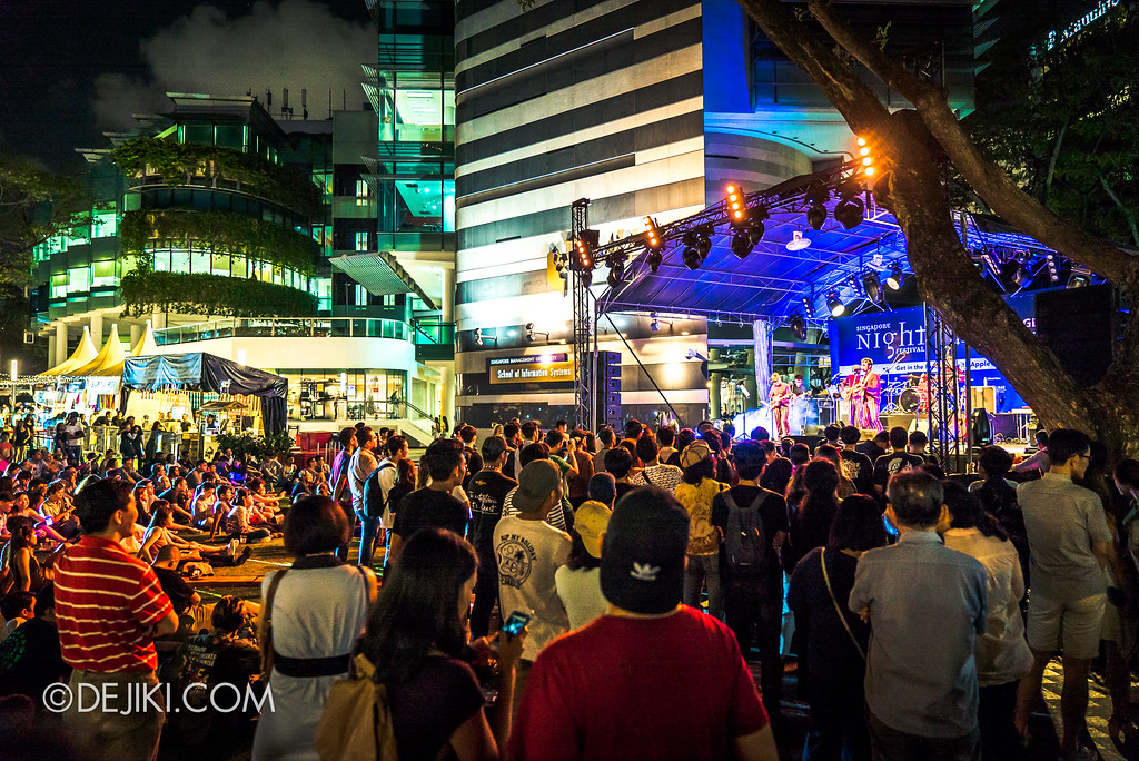 Singapore Night Festival 2017 - Festival Village on 24 August