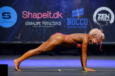Women's Physique Pro Qualifier Class Masters