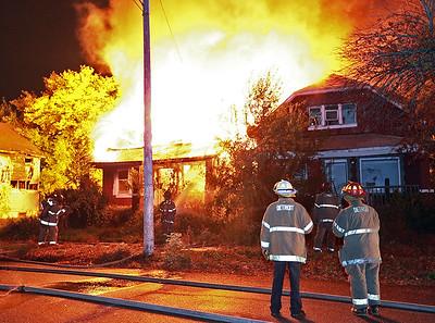 Detroit, MI - October 17, 2012 - Box Alarm - Justine St / Luce St