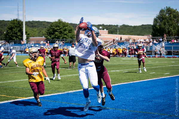 Great Valley Football Scrimmage