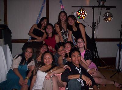 Christie Mae's 18th Birthday - November 2005