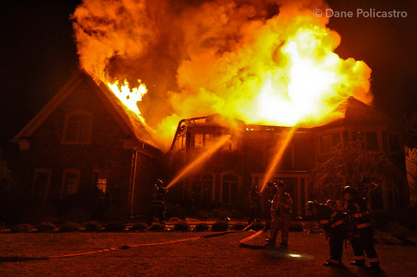 1-11-13 - Upper Saddle River, NJ 4th Alarm: 1 Sandstone Ridge
