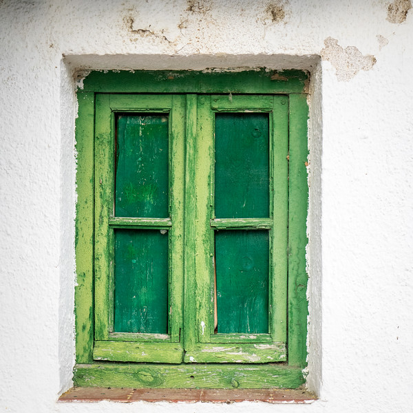 Window in La Vid, Spain