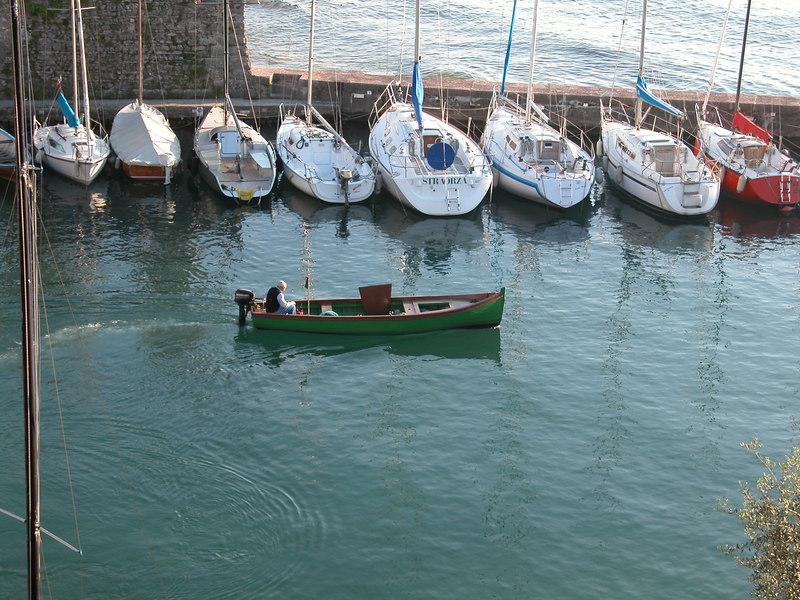 Torri del Benaco Harbor / Ted Wenz Photo