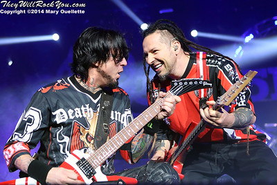 Five Finger Death Punch <br> September 26, 2014 <br> Tsongas Center - Lowell, MA <br> Photos by: Mary Ouellette