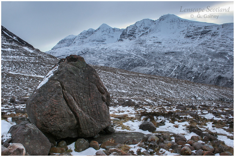 Liathach from Coire Mhic Nobuil