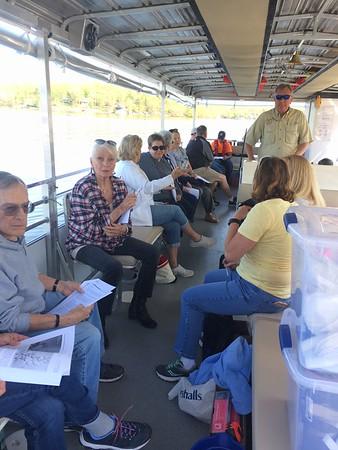 Floating Classroom training