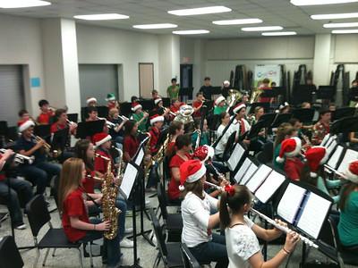 Holiday Cheer FJHS Choir and Band