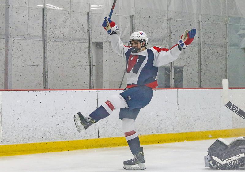 no.67, Michael KocsisWall v/s Hillsborough hockey in Wall, NJ on 1/4/19.[DANIELLA HEMINGHAUS   THE COAST STAR]