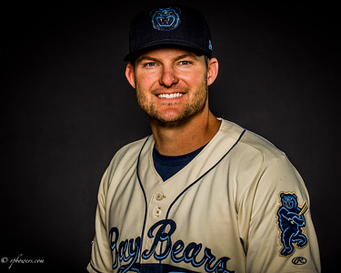 Mobile BayBears Team Portraits - 2018