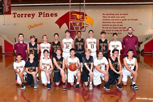 TP Boys Freshman Basketball Team, 11-17-18