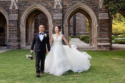 Mina & Jay   Duke Chapel & University Club Durham Wedding
