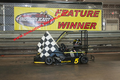 Ohio Indoor Karts 1/19/13 Feature Winners