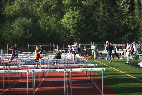 2013-05-08 KingCo 4A Girls 100m Hurdles Prelims
