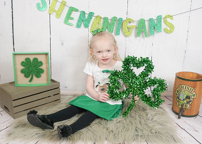 St Pattys Day Lawlee Twins
