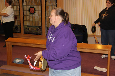 Tamborine Classes, Salvation Army, Tamaqua (10-31-2012)