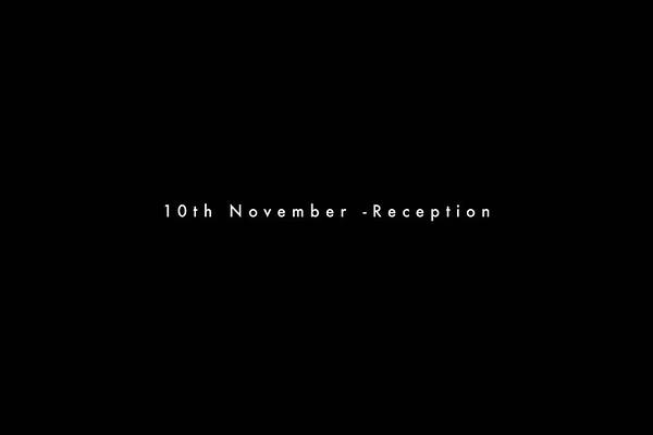10th November- Reception
