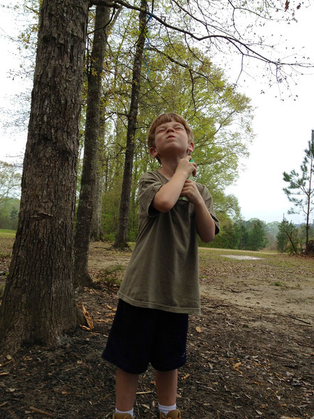 Cub Scout campout.