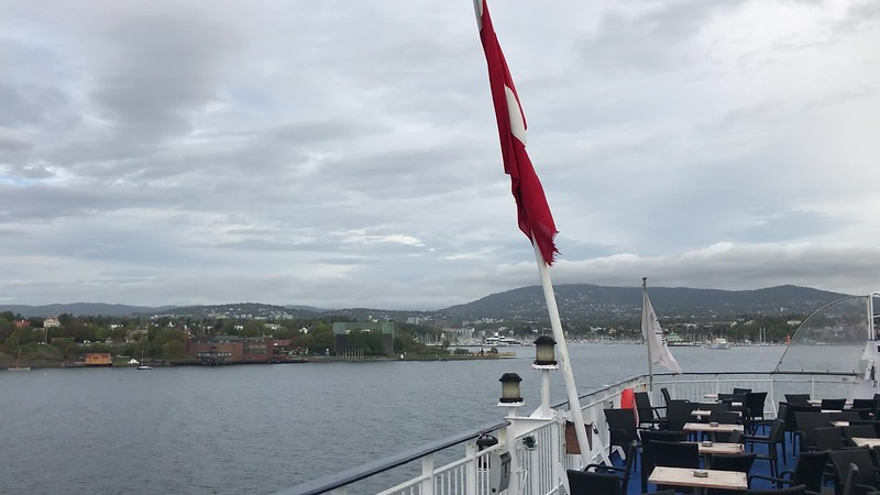 VIDEO-on the overnight ferry to Oslo