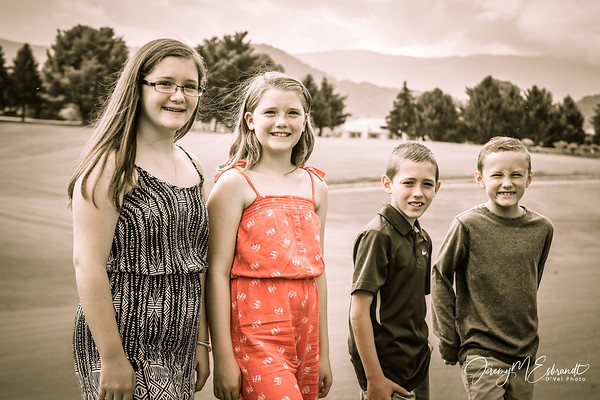 Kids - Summer Pics - Pigeon Forge - 2015