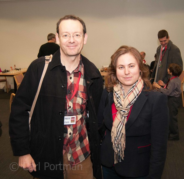 Carl and Judit Polgar London CC 2012.jpg