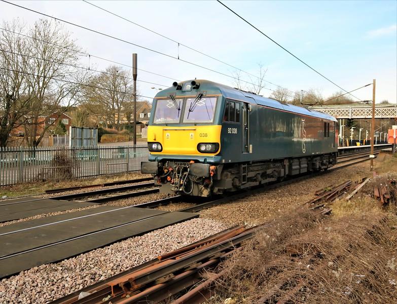 92038 1355/0Z93 Peterborough to Kings Cross   13/02/21