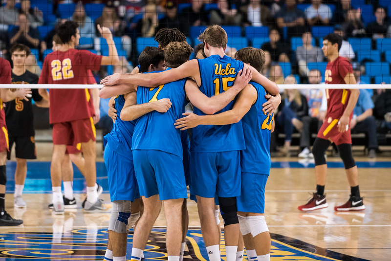 UCLA Men's Volleyball vs USC @ Pauley Pavilion