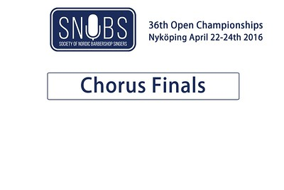 2016-0422 SNOBS Chorus Finals