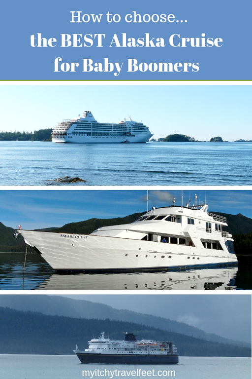How to choose the BEST Alaska Cruise for Baby Boomers. Read our tips on which ship, best itinerary, best type of cruising and how to find the most fun cruise excursions.