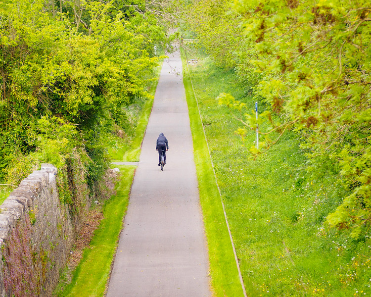 The Old Rail Trail, formerly the Mullingar to Athlone railway, from Belmont Bridge