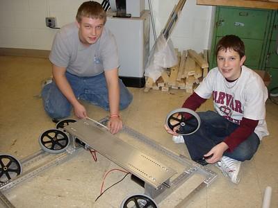 Build Week 2  --  1-15-05