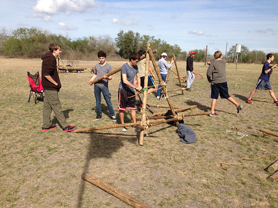 Pioneering Campout