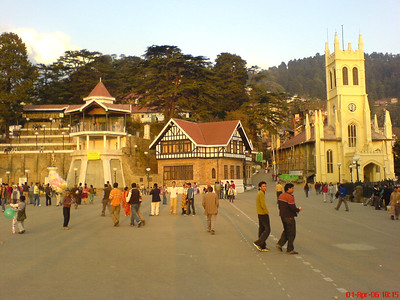 The Mall - Shimla