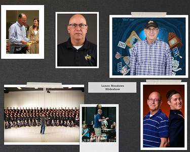 images of Lance Meadow's career at NCHS