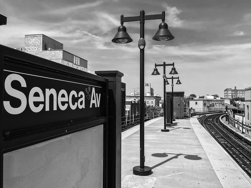 Seneca Avenue Station