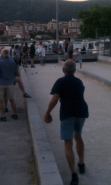 these were amazing Bocce ball players