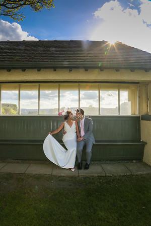 Yui and Nick's wedding photography The Bradford Golf Club