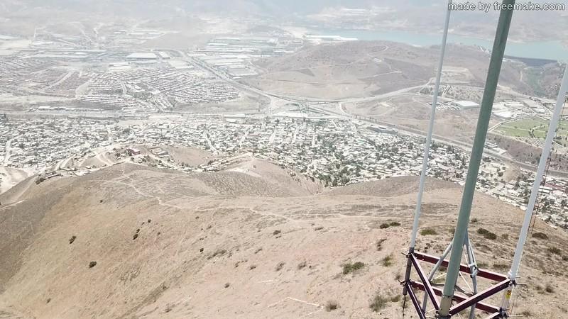 Drone Flight around the Radio Site