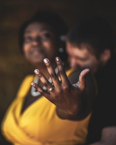 Rakia and Jacob Engagement Photoshoot