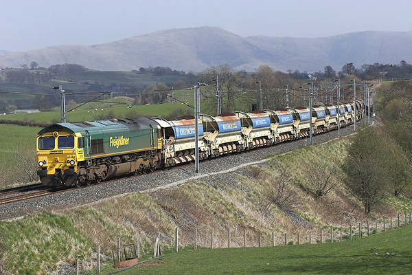 22nd April 2008: Hellifield and Cumbria